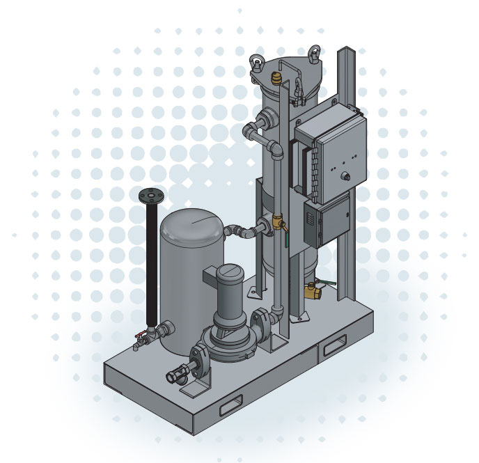 Series C Hot / Chilled Water Skid-Mounted